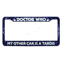 Amazon.com: Doctor Who My Other Car is a Tardis License Plate Frame: Toys & Games