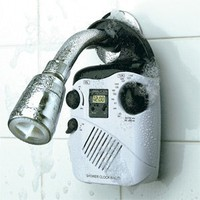 Shower Clock Radio