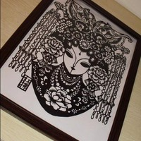 Traditional Papercut Art Work - SPE.. on Luulla