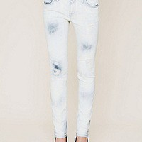 Free People Clothing Boutique > 5 Pocket Washed Ankle Crop