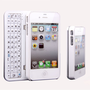 Fashion Sliding Bluetooth Wireless Keyboard Hard Cover Case for Iphone4/4s/5