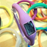 ORIGINAL Waterproof Minus Ion Sport Bracelet Watch (LightPurple)