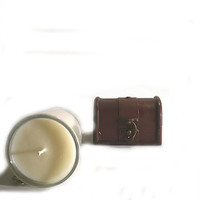 Tobacco and Honey - NEW for 2013, pure essential oil aromatherapy candle, masculine and earthy
