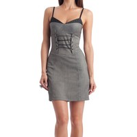 G by GUESS Dulani Herringbone Dress