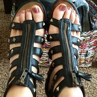 Cute Ciao Bella Gladiator Sandals!!!