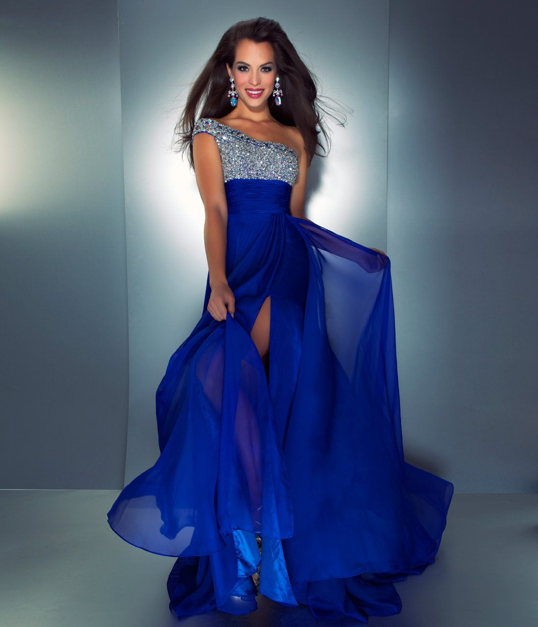 Mac Duggal Prom 2013 Royal Blue e from Unique Vintage