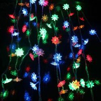 Fantastic AC220V 8M 60 Lotus Leds Light String For Home Decoration CIS-84092 (Colorful)