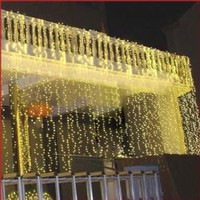 Fantastic AC220V 8Mx3M 800 Leds Light String For Home Decoration CIS-84017 (Gold)