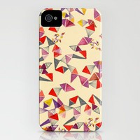 watercolour geometric shapes iPhone Case | Print Shop