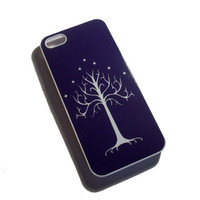 iPhone 5 LOTR inspired White Tree of Gondor case by GelertDesign