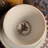 Harry Potter Teacup and Saucer Set Vintage Blue Posey