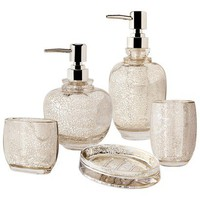 Target Home Mercury Glass Bath Collection