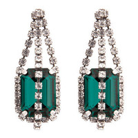 Treasured Green Earrings | Rent The Runway
