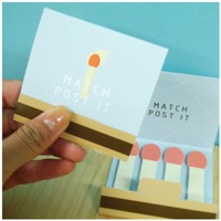 Match Sticky Note Set