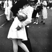Kissing On VJ Day - Nurse Kissing Sailor 24x36 Poster Art Print