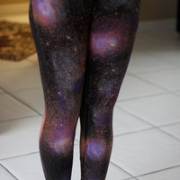 Galaxy Print Leggings -----ON VACATION no orders will be shipped until dec.30------