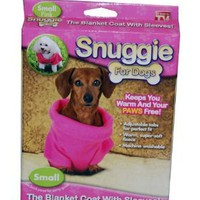 Amazon.com: Snuggie for Dogs in Pink Small - As Seen on TV: Pet Supplies