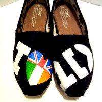 One Direction Painted TOMS Version 3