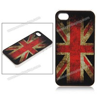 British Flag Fashion Design Super Touch Feeling Transparent Frame Hard Plastic Case Cover for iPhone 4 4S China Wholesale - Everbuying.com