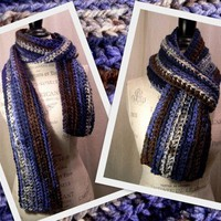 Charisma Scarf - Lakeside - Handmade Men and Women's Winter Scarf