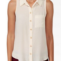 Essential Sleeveless Shirt | FOREVER 21 - 2017307074