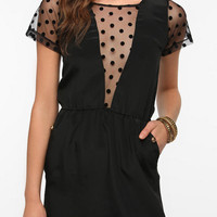 Urban Outfitters - Johann Earl Polka Dot Sleeve Dress