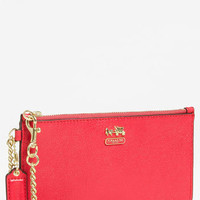 COACH 'Madison' Leather Wristlet | Nordstrom