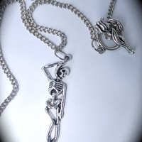 Silver Hangman Necklace Metal Hanging by DeadlyRomanticGirl