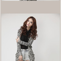 European Sexy Style Stripe Long Sleeve Cardigan (Long Style) China Wholesale - Sammydress.com