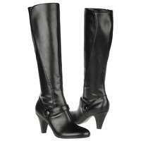 Naturalizer Women's Bayfield Wide Calf Dress Boot (Black) - Sale Boots