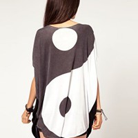 Shirt Dress on Evil Twin To My Yin Yang Oversize Tunic T Shirt At Asos Com