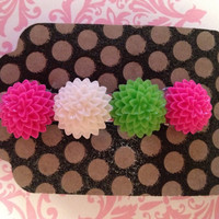 Pretty Flowers Hair Barrette