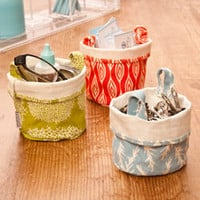 Fabric Bucket Storage-Small - See Jane Work