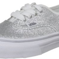 Amazon.com: Vans Kids VANS AUTHENTIC GLITTER SKATE SHOES: Shoes