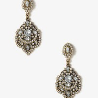 Antiqued Royal Earrings