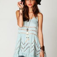 Free People Voile Trapeze Slip at Free People Clothing Boutique