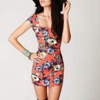Free People Cage Back Bodycon Slip at Free People Clothing Boutique