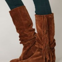 Jeffrey Campbell Tory Fringe Boot at Free People Clothing Boutique