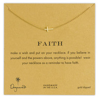 Dogeared &#x27;Reminder - Faith&#x27; Pendant Necklace | Nordstrom