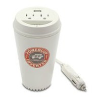 Cool Stuff - PowerCup 200/400 Watt Mobile Inverter with USB Power Port