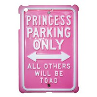 Princess parking iPad mini covers from Zazzle.com
