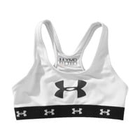 Under Armour Girls' Mesh Sports Bra Youth Medium White