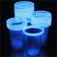 Glow stick party cups