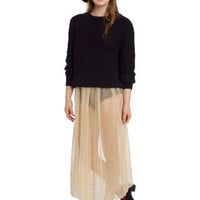 Chiffon Full Length Skirt | Shop American Apparel