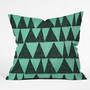 DENY Designs Home Accessories | Nick Nelson Analogous Shapes 1 Throw Pillow