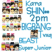 K-POP SHINee,BIGBANG,BEA...