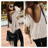 New long-sleeved fashion trend of women SY0001