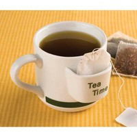 Tea Time Mug W/ Tea Bag Holder from Jannie's LiveDeals