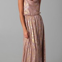 The Addison Story Silk Chiffon Maxi Dress