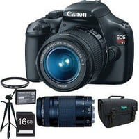 Canon EOS Rebel T3 12.2 MP CMOS Digital SLR Camera with EF-S 18-55mm f/3.5-5.6 IS II Zoom Lens